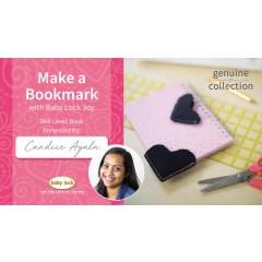 Make a Bookmark with Baby Lock Joy