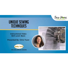 Unique Sewing Techniques