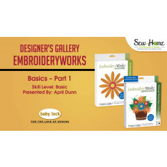 EmbroideryWorks Basics - Part 1