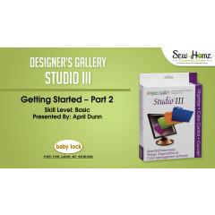 Getting Started with Studio III - Part 2