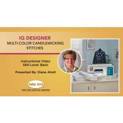 IQ Designer - Multi-Color Candlewicking Stitches - Solaris