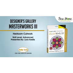 MasterWorks III - Heirloom Cutwork