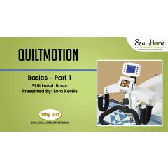QuiltMotion Basics - Part 1