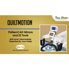 QuiltMotion - PatternCAD Mirrors and EZ Tools