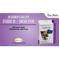 Studio III Sneak Peek