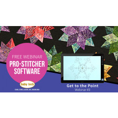 Pro-Stitcher Webinar: Get to the Point - April 2019