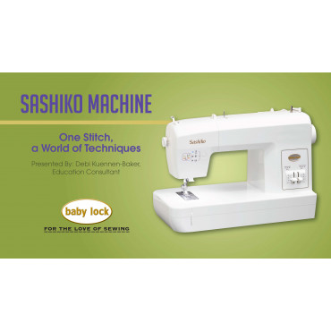 Sashiko MachineOne Stitch A World Of Techniques Beauteous Sashiko Sewing Machine