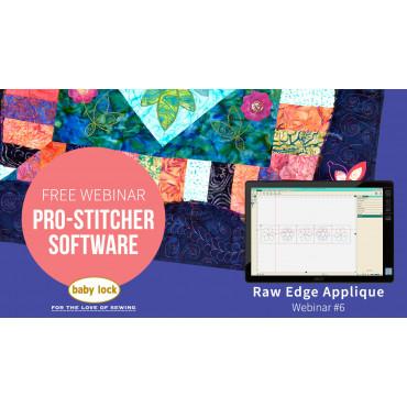 Pro-Stitcher Webinar 6 - Raw Edge Appliqué with Pro-Stitcher