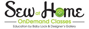 Sew at Home OnDemand Classes